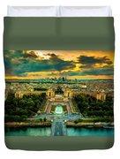 Paris Landscape Duvet Cover