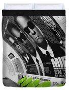 Paris Metro 4 Duvet Cover