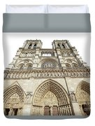 Paris Notre Dame Duvet Cover