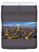 Paris Panorama Duvet Cover