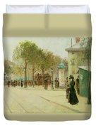 Paris Duvet Cover by Paul Cornoyer