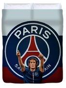 Paris Saint Germain Painting Duvet Cover