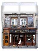 Paris Street Life 2 Duvet Cover