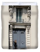 Paris Street Life 3 Duvet Cover