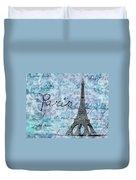 Paris - V01t01a Duvet Cover