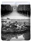 Paris Versailles . Duvet Cover