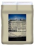 Parisian Building Duvet Cover