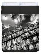 Parisian Buildings Duvet Cover