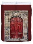 Parisian Door No.49 Duvet Cover