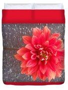 Parisian Flower Duvet Cover