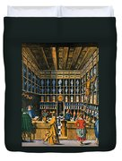 Parisian Pharmacy, 1624 Duvet Cover