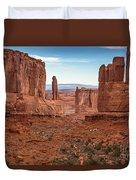 Park Avenue Arches National Park Duvet Cover