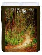 Park Path  Duvet Cover