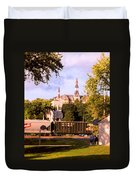 Park University Duvet Cover by Steve Karol