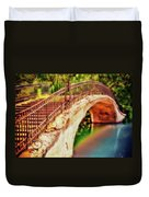 Park Walk Bridge Duvet Cover