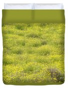 Parker Ranch Field Of Yellow Duvet Cover