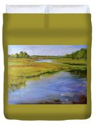 Parker's River, Cape Cod Duvet Cover