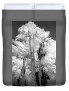 Parking Lot Palms 1 1 Duvet Cover