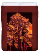Parking Lot Palms 1 11 Duvet Cover