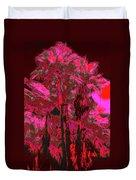 Parking Lot Palms 1 12 Duvet Cover