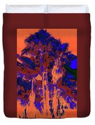 Parking Lot Palms 1 18 Duvet Cover