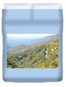 Parkway Mountains Duvet Cover