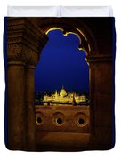 Parliament Framed Duvet Cover