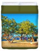 Parmer's Resort At Little Torch Key Duvet Cover