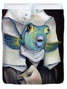 Parrishfish Duvet Cover