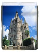 Parroquia Church Duvet Cover