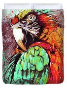 Parrot Art 09i Duvet Cover