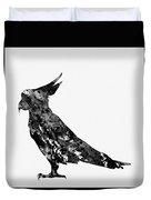 Parrot-black Duvet Cover