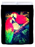 Parrot Couple Duvet Cover