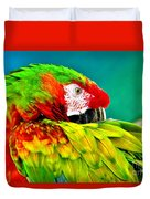 Parrot Time 2 Duvet Cover
