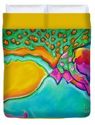 Parrotfish 2 Duvet Cover