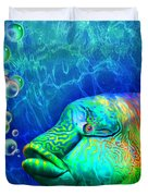 Parrotfish - Rainbow Spirit Duvet Cover