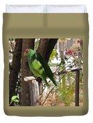 Parrots. Duvet Cover