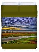 Parrsboro Dawn Duvet Cover
