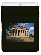 Parthenon Nashville Tennessee From The Shade Duvet Cover