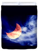 Partial Eclipse Duvet Cover