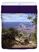 Partly Cloudy - Grand Canyon Duvet Cover