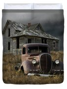 Partners In Time Duvet Cover