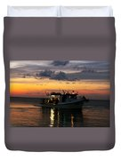Party Boat Duvet Cover