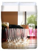 Party Drinks Duvet Cover
