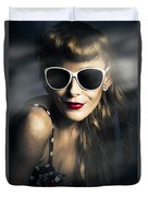 Party Fashion Pin Up Duvet Cover
