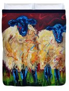 Party Sheep Duvet Cover