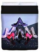 Party Shoes Duvet Cover