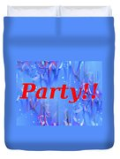 Party Duvet Cover