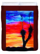 Paso Del Norte Sunset 1 Duvet Cover