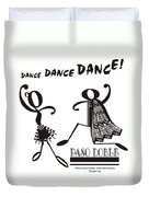 Paso Doble Duvet Cover